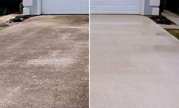 mesquite driveway cleaning