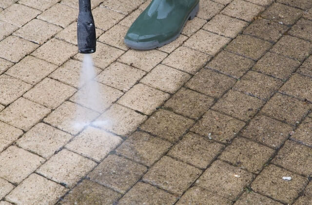 mesquite patio cleaning