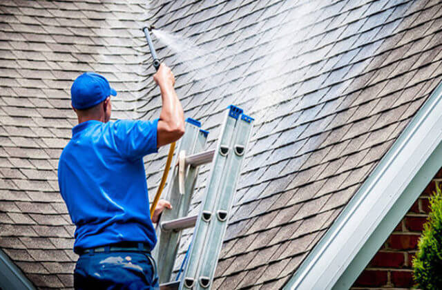 mesquite roof cleaning