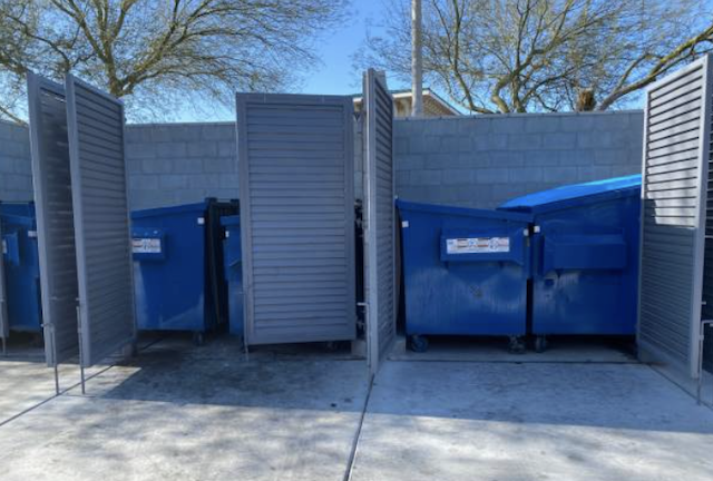 dumpster cleaning in mesquite