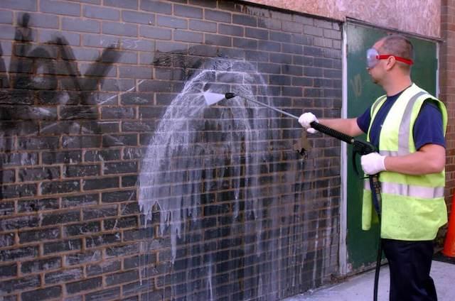 graffiti removal in mesquite