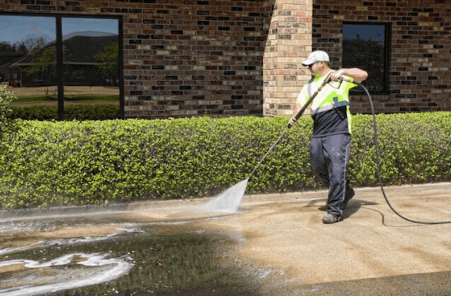 commercial concrete cleaning in mesquite